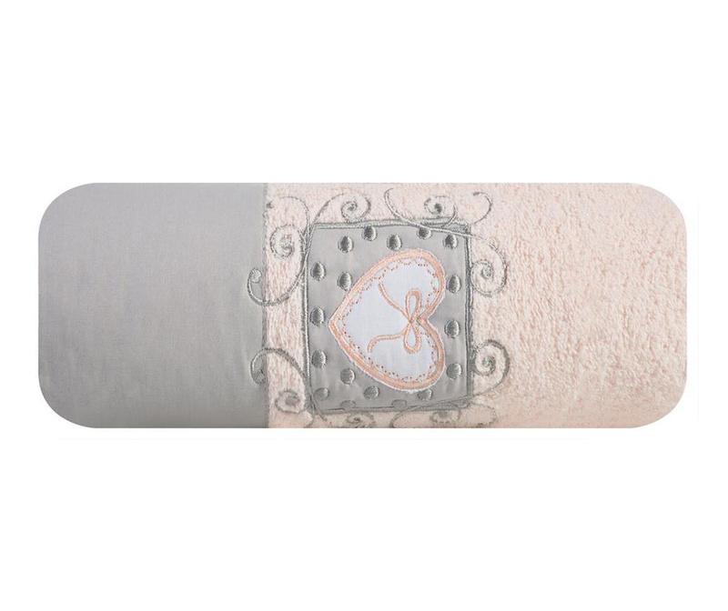 Nora Pink Fürdőszobai törölköző 70x140 cm