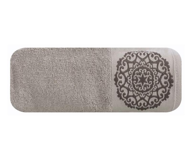 Kupaonski ručnik Kim Silver 70x140 cm