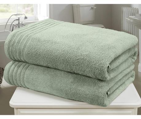 So Soft Sea Green 2 db Fürdőszobai törölköző 100x140 cm