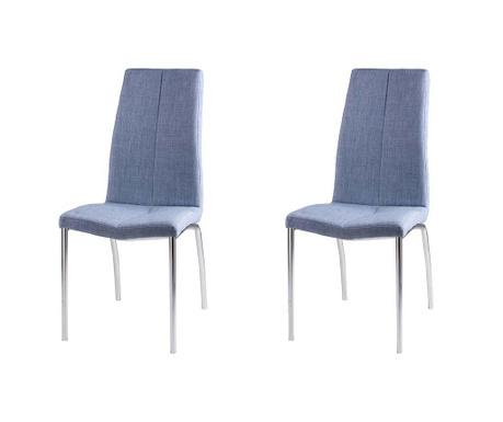Комплект 2 стола Carla Light Blue