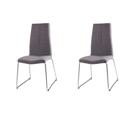 Комплект 2 стола Aroa Light Grey