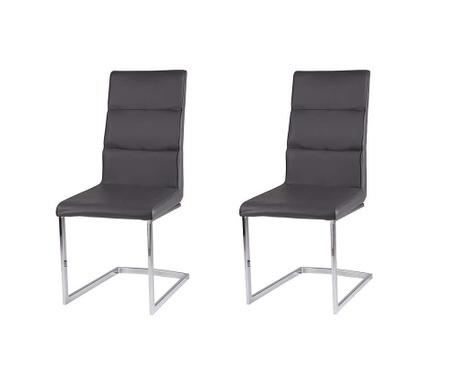 Set 2 scaune Camile Grey
