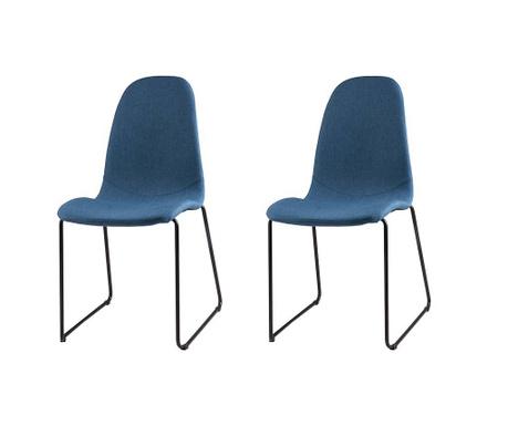 Комплект 2 стола Helena Dark Blue