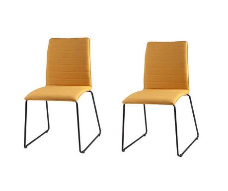 Комплект 2 стола Vera Yellow