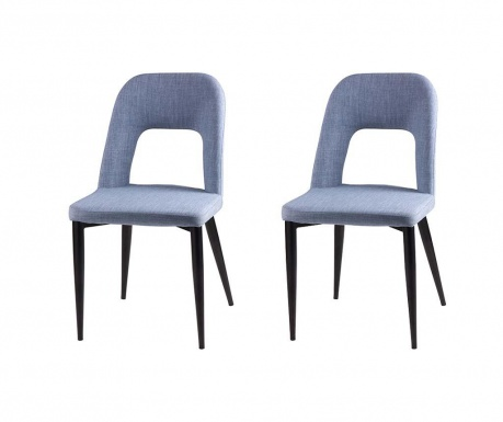 Комплект 2 стола Anika Light Blue