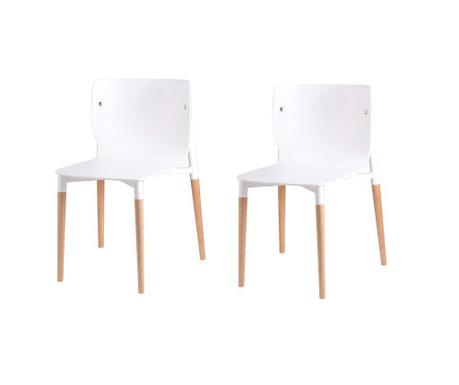 Комплект 2 стола Alisia White