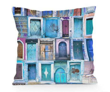 Ukrasni jastuk Blue Doors 45x45 cm