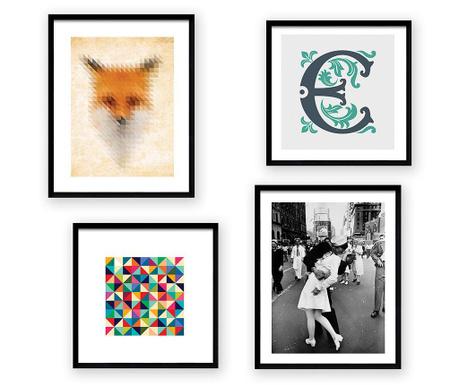 Set 4 slike Mix and Match