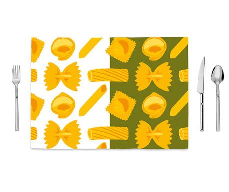 Pasta Pattern Tányéralátét 35x50 cm