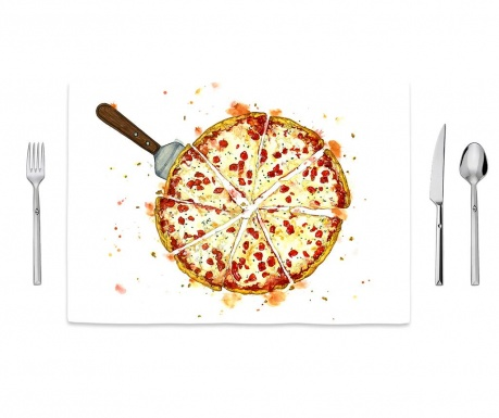 Individual Pizza Pattern 35x50 cm