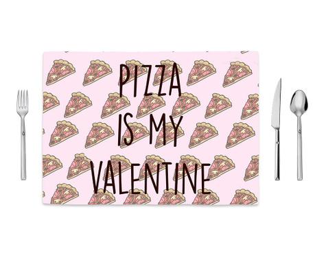 Pizza Love Tányéralátét 35x50 cm