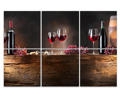 Wine Barrel 6 db Kép 30x30 cm