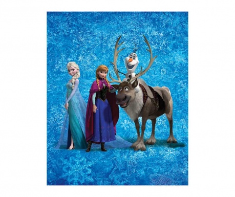 Disney Frozen Team Pléd 130x160 cm