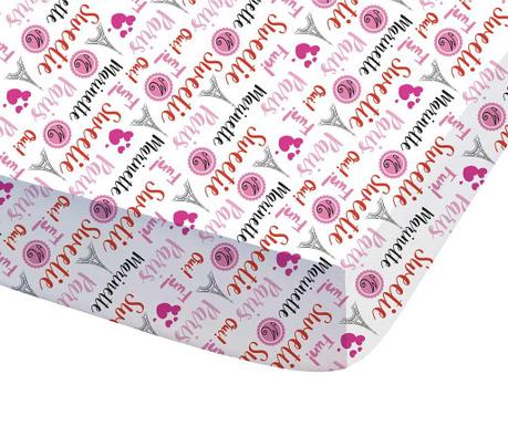Долен чаршаф с ластик Miraculous Ladybug Marinette 90x190