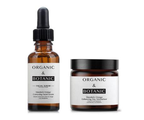 Set serum korektor i hidratantna dnevna krema Mandarin Orange