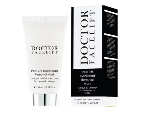 Maska za piling Dr Facelift Charcoal 50 ml