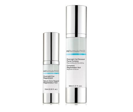 Set serum za područje oko očiju i noćna krema Cell Renewal