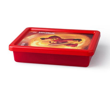 Kutija za pohranu s poklopcem Lego Ninjago 6.2 L