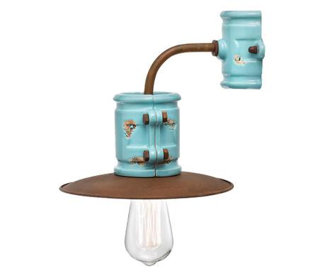 Rustic Blue Fali lámpa