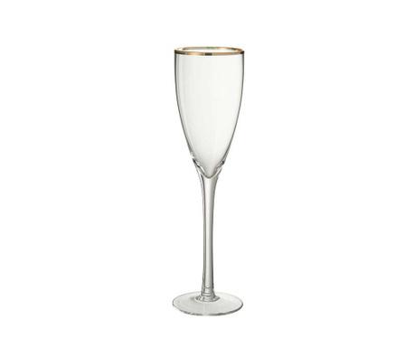 Чаша за шампанско Golden Edge 200 мл