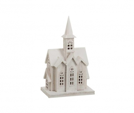 Светеща декорация Church White