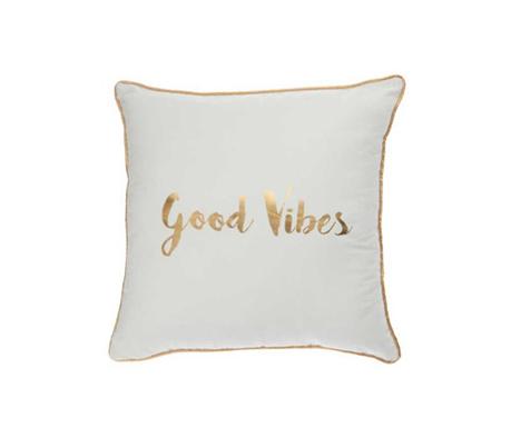 Декоративна възглавница Good Vibes 45x45 см