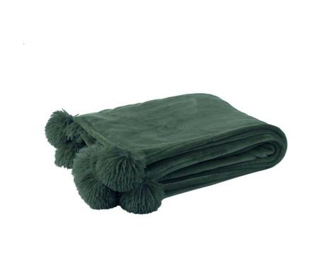 Одеяло Pom Pom Petrol Green 130x170 см