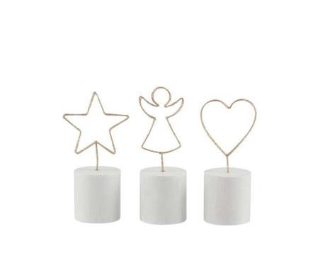 Комплект 3 декорации Star Angel Heart