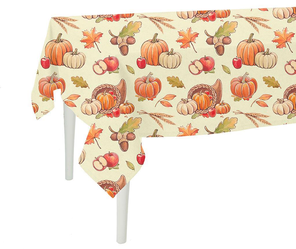 Pumpkin Orange Asztalterítő 140x300 cm