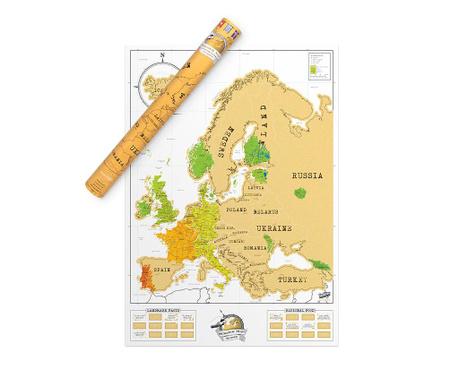 Euro Kaparós térkép