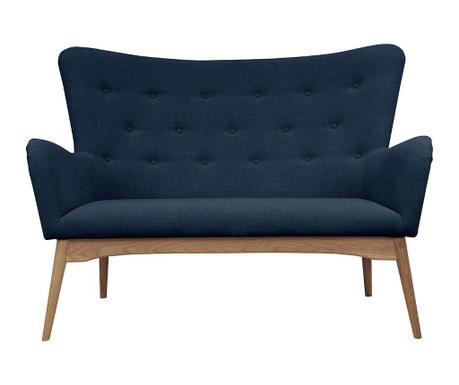 Sofa dwuosobowa Karl Blue