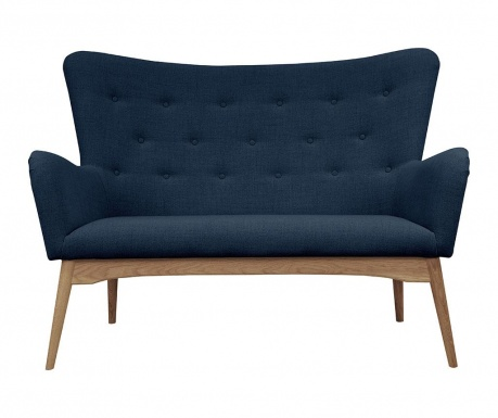 Kauč dvosjed Karl Blue