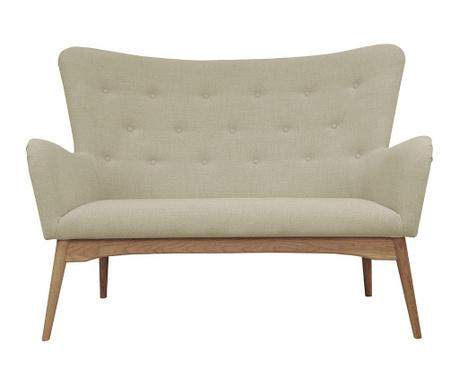 Sofa dwuosobowa Karl Beige