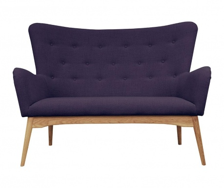 Sofa dwuosobowa Karl Violet