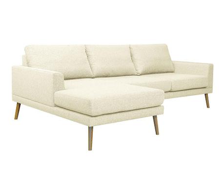 Ляв ъглов диван Alan Cream
