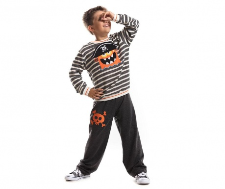 Set bluza si pantaloni Pirate Boo