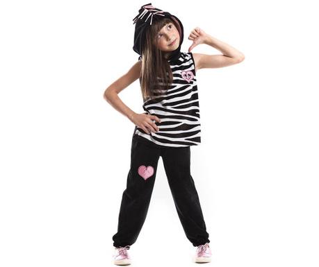 Zebra Ujjatlan felső és nadrág