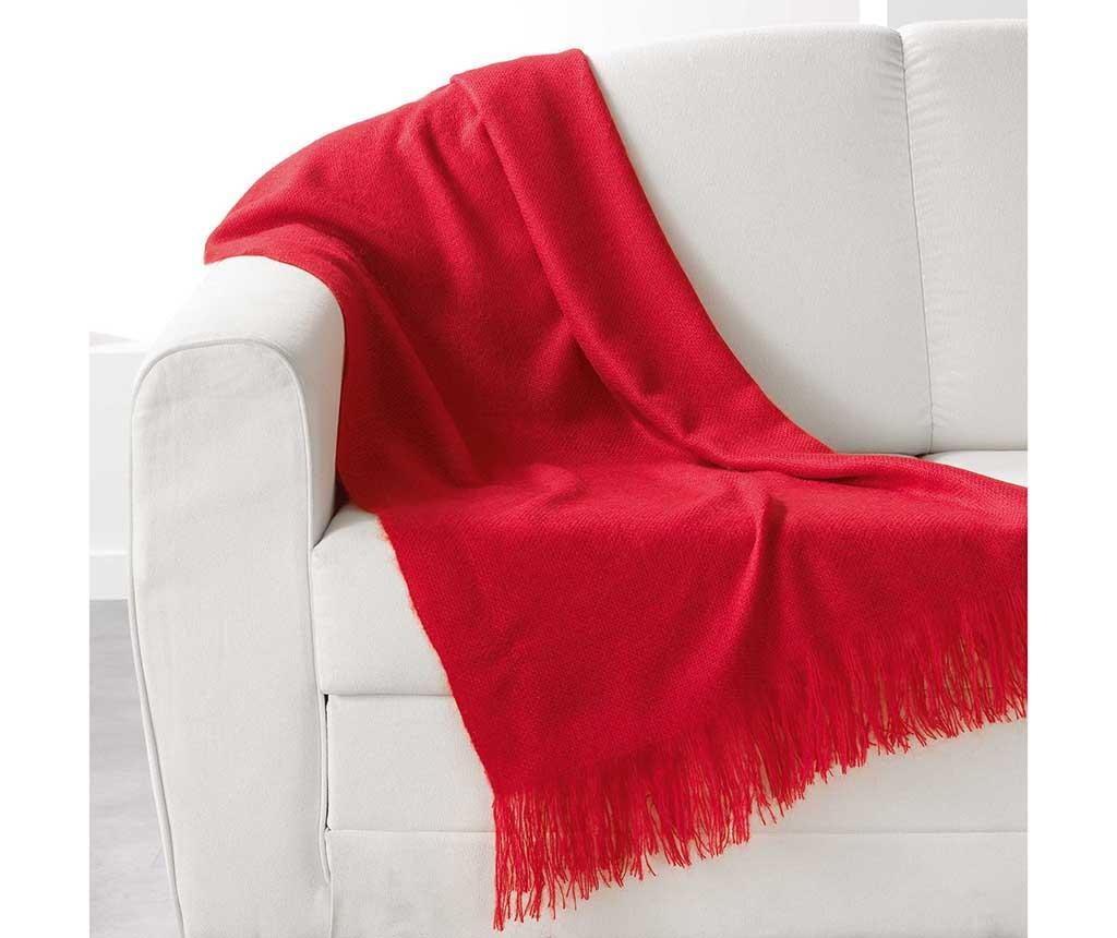 Pled Shelly Red 120x150 cm