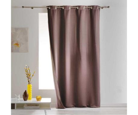 Завеса Insulating Brown 140x260 см