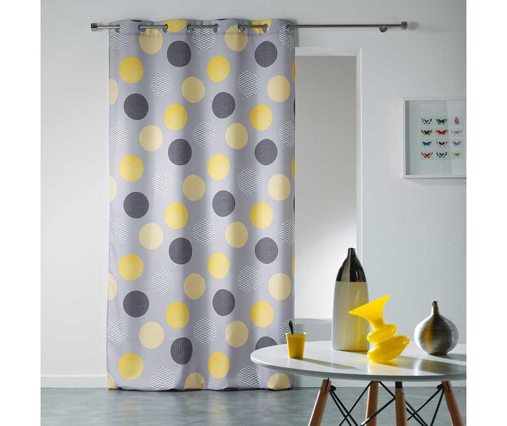 Draperie Odaly Yellow 140x280 cm