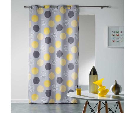 Zastor Odaly Yellow 140x280 cm