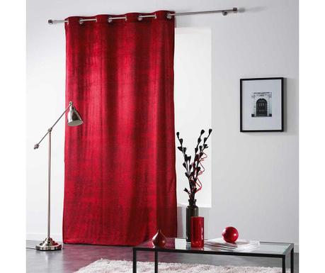 Závěs Verona Red 140x260 cm