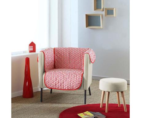 Ватиран калъф за фотьойл Kiria Red 165x179 см