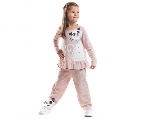 Set bluza si pantaloni White Cat