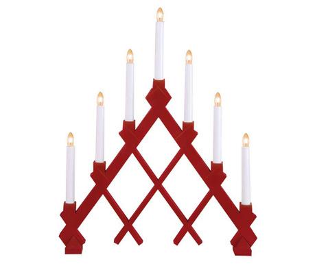 Светеща декорация Rut Red