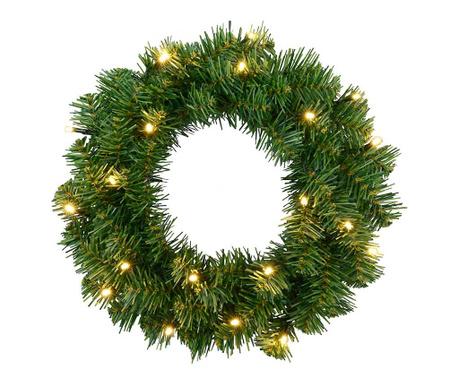 Decoratiune luminoasa de usa Alaska Wreath