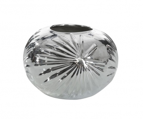 Ваза Leto Spherical Silver