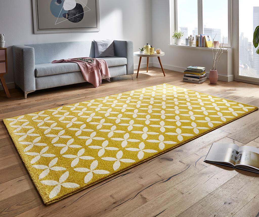 Tepih Flora Yellow 160x230 cm
