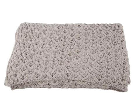 Knittwork Grey Pléd 150x170 cm