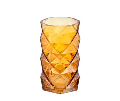 Svečnik Geometric Cognac